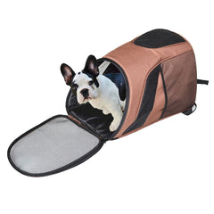 Pet Carrier ~ Dog Travel Outdoor Mesh Backpack