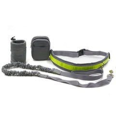 Hands Free Running Dog Leash; Jogging Walking Pet Waist Belt;