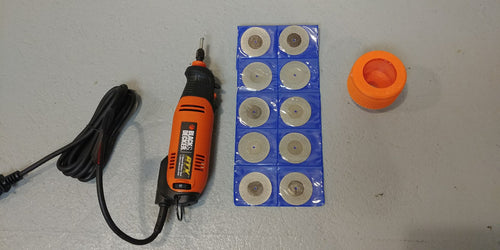 JR Tungsten Sharpener Complete Kit w/Rotary Tool and Discs