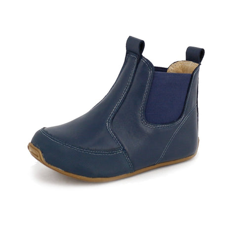 Riding Boots-Navy