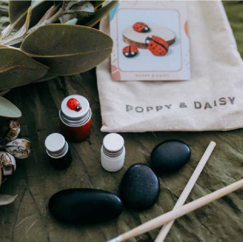 Lady Bird Rocks Mini Eco Bags