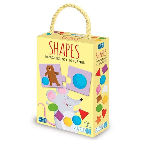 Book + Puzzle - Shapes