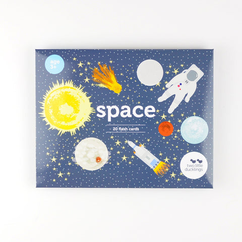 Flash Cards Space