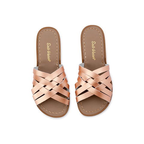 Salt Water Retro Slide - Rose Gold