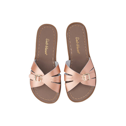 Salt Water Classic Slide - Rose Gold