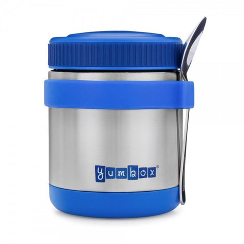 ZUPPA Insulated Food Jar - Neptune Blue Zuppa Inc Spoon