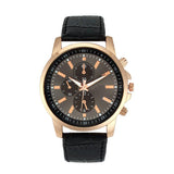 Gold Trim Quartz Watch