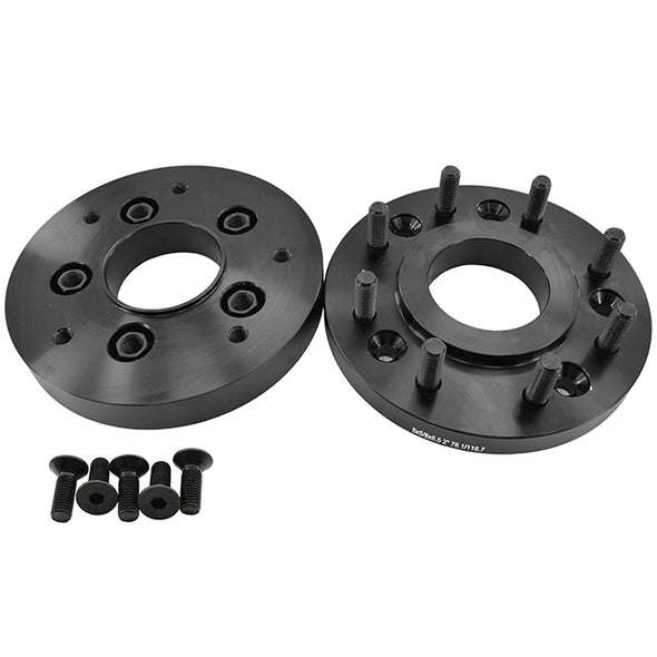 "5x5"" To 8x6.5"" Wheel Adapters Hub Centric 5 To 8 Lug Conversion"
