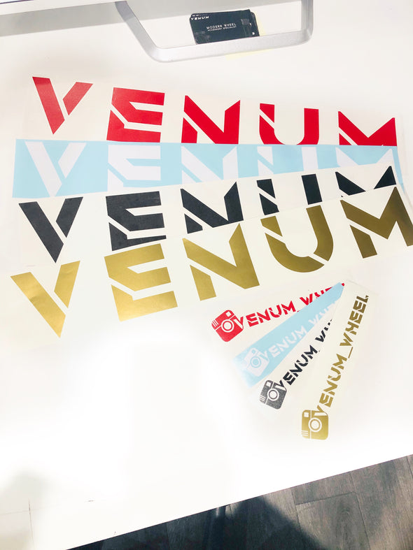 Venum | Window Decals | Various Colors