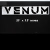 Black Venum Wheel Decal
