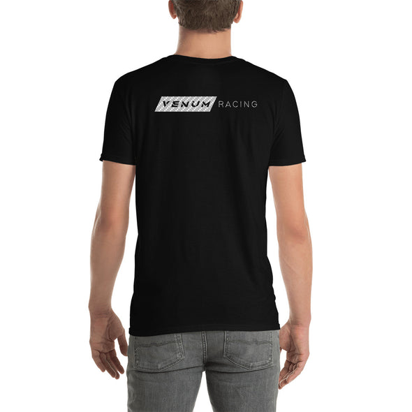 Venum Racing Shirt Back Side Bella Canvas Black