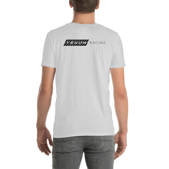 Venum Racing Shirt Back Side Bella Canvas White