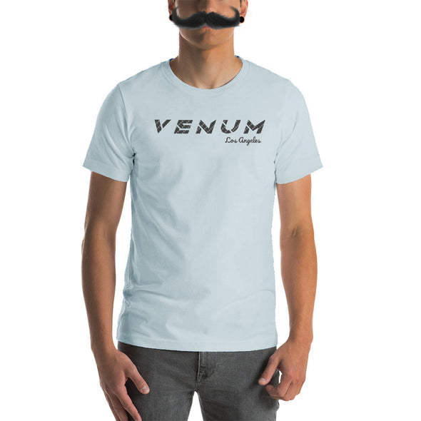 Venum Racing Shirt Front Side Bella Canvas White