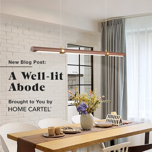 A Well-lit Abode Brought to You by Home Cartel