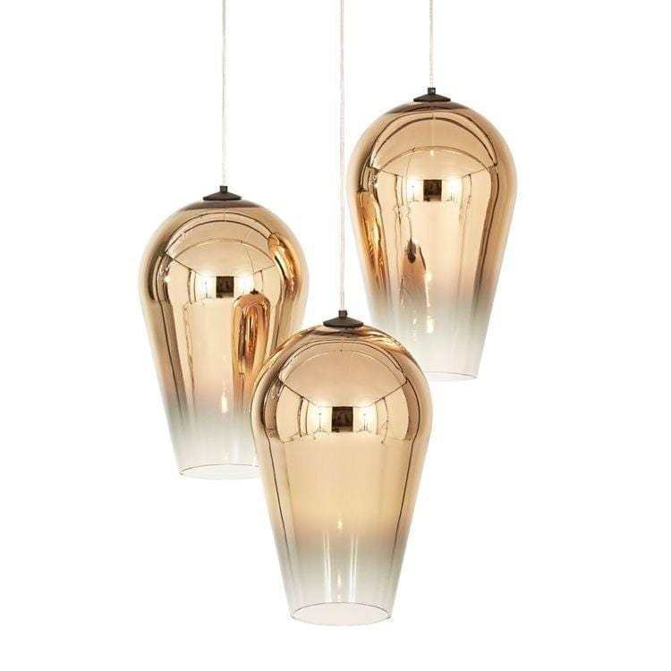 Adra Gold (S) | Faded Glass Pendant Light - Home Cartel ®