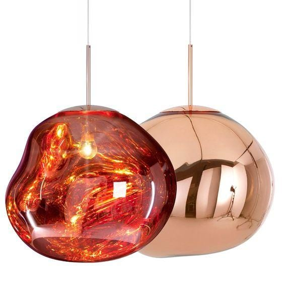 Novigrad Copper | Metallic Lava Pendant Lights - Home Cartel ®