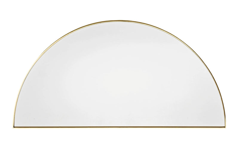 Luna | Half Moon Gold Mirror 90cm x 45cm - Home Cartel ®
