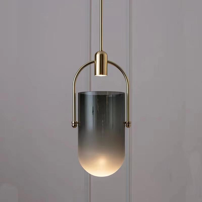 Triss | Smokey Glass Modern Pendant Light - Home Cartel ®