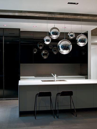 Lune Silver | Mirror Pendant Light - Home Cartel ®