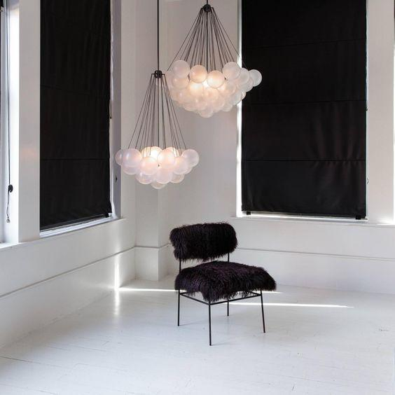Lofoten 37 orbs | Modern Cloud Chandelier - Home Cartel ®