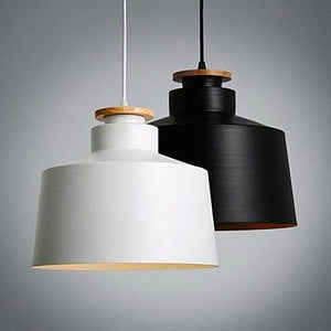 Olfus Drum (Black or White) | Nordic Pendant Light - Home Cartel ®