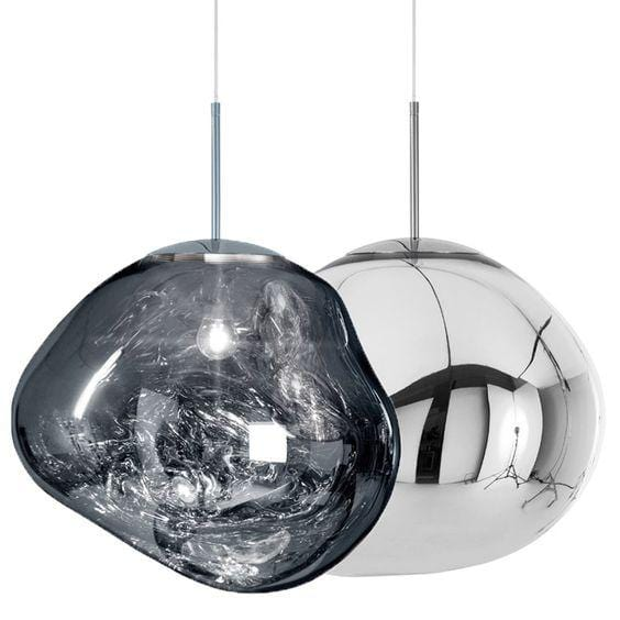 Novigrad Silver (S) 28cm | Metallic  Pendant Lights - Home Cartel ®