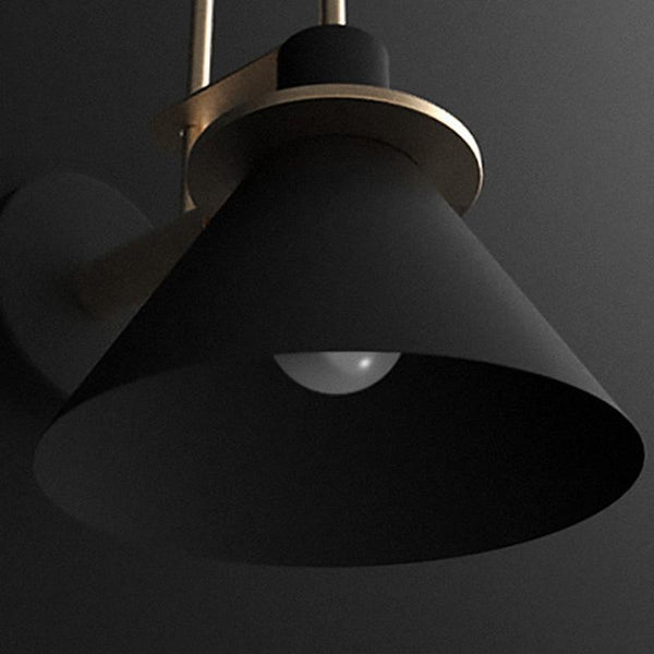 Bo | Nordic Wall Sconce Black - Home Cartel ®