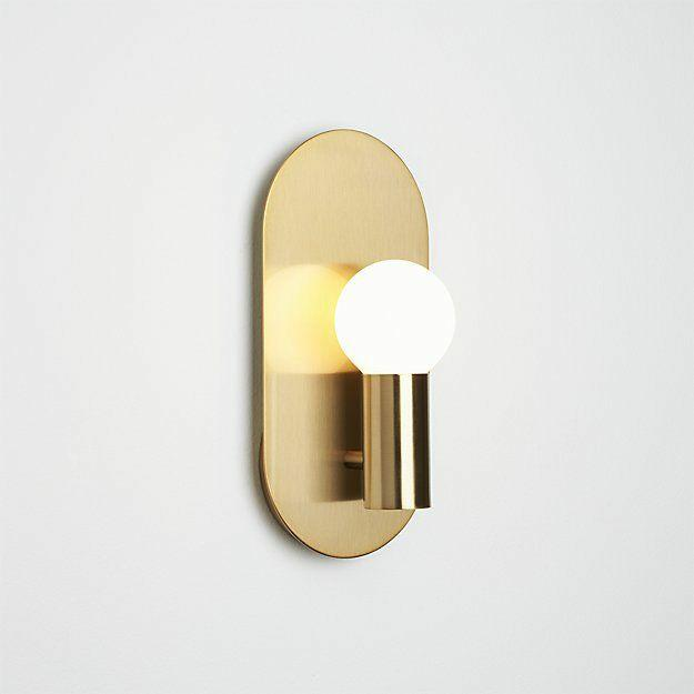 Alrik Gold Modern Wall Sconce