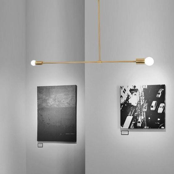 Garth | Gold Modern Chandelier (colors available) - Home Cartel ®