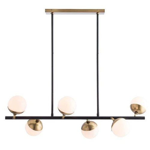 Xavi Copper with Glass Chandelier