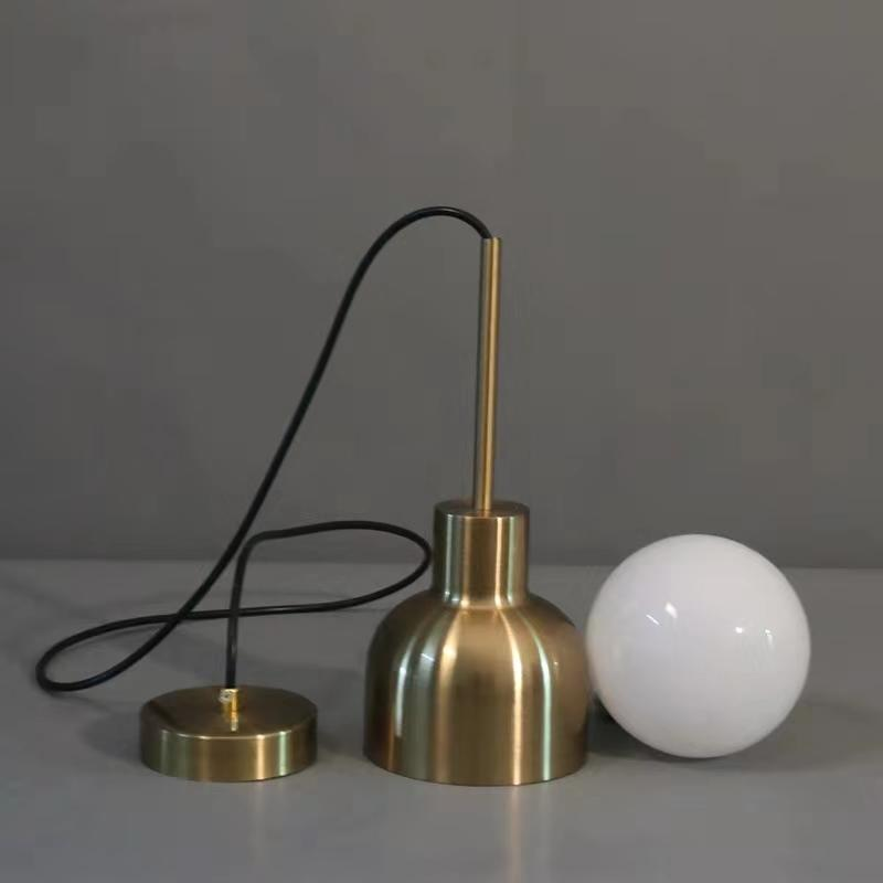 Brage | Brass Pendant Light - Home Cartel ®