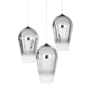 Adra Silver (S) | Faded Glass Pendant Light - Home Cartel ®