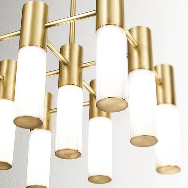 Irvine | Gold Chandelier - Home Cartel ®
