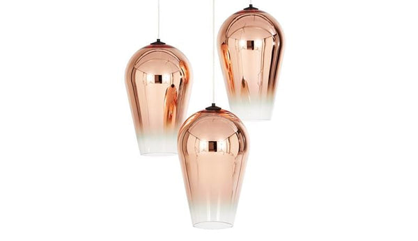 Adra Copper | Faded Glass Pendant Light - Home Cartel ®