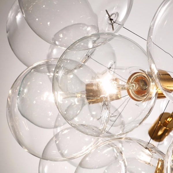 Anaheim 6 | White Modern Bubble Chandelier - Home Cartel ®