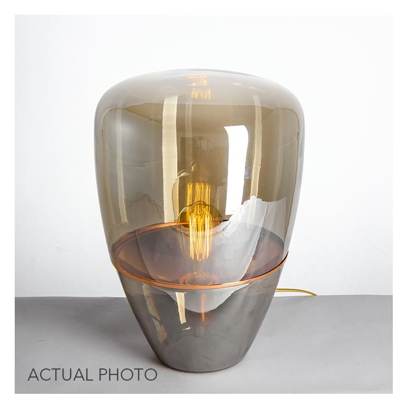 Hal | Modern Glass Table Lamp
