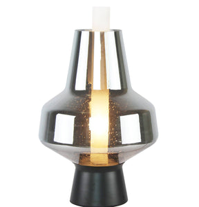 Brielle Grey | Glass Table Lamp - Home Cartel ®