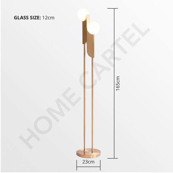 Callen | Retro Floor Lamp - Home Cartel ®