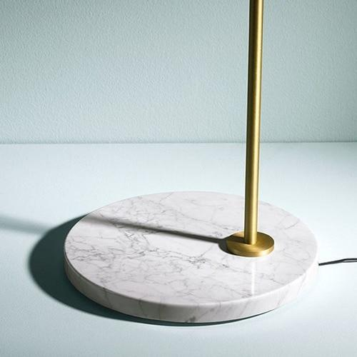 Clarice | Gold x Marble Table Lamp - Home Cartel ®