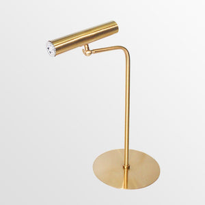 Cygnus | Brass Modern Table Lamp - Home Cartel ®