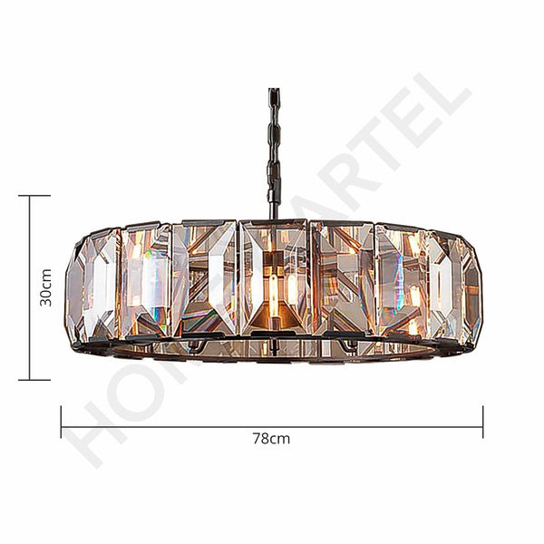 Glasgow 80 | Luxe Crystal Chandelier - Home Cartel ®