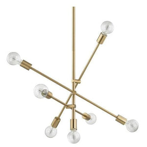 Helga 7 | Gold Modern Mobile Chandelier - Home Cartel ®