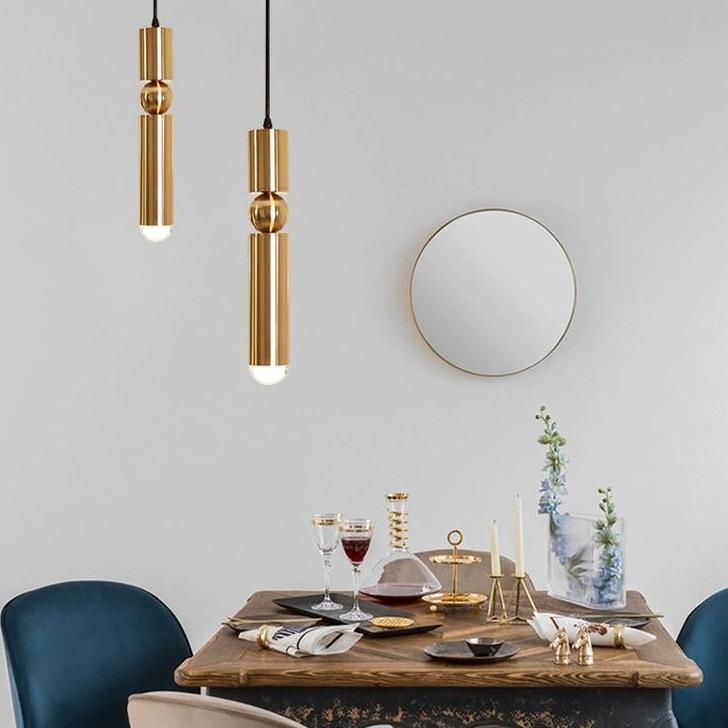 Derby | Brass Pendant Light