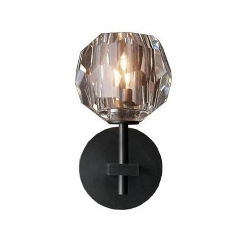 Siv | Crystal Wall Sconce Single - Home Cartel ®