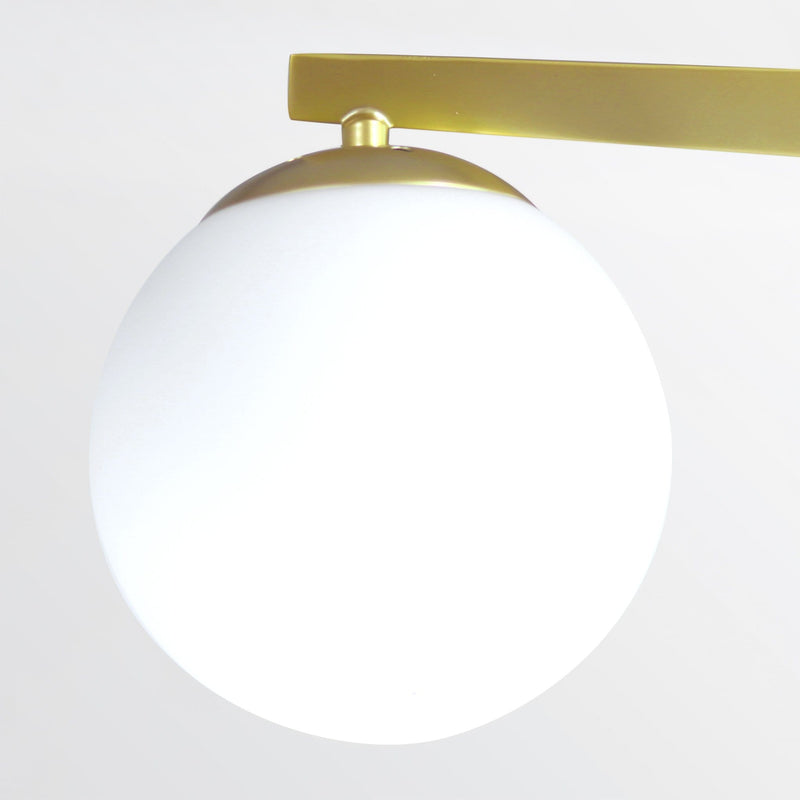 Neptune 3 | Frosted Ball Chandelier - Home Cartel ®