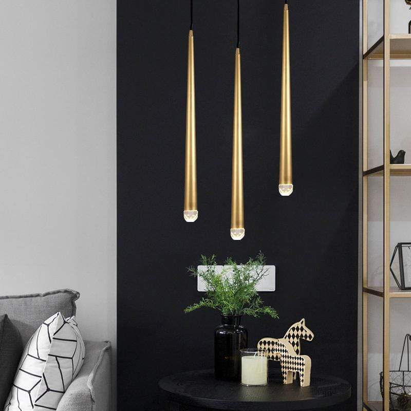 Ari | Modern Brass Pendant Light - Home Cartel ®