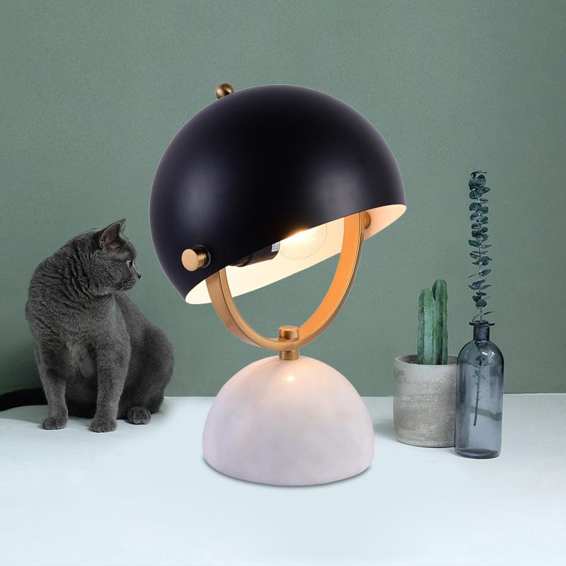 Dalancey | Modern Table Lamp with Marble Base