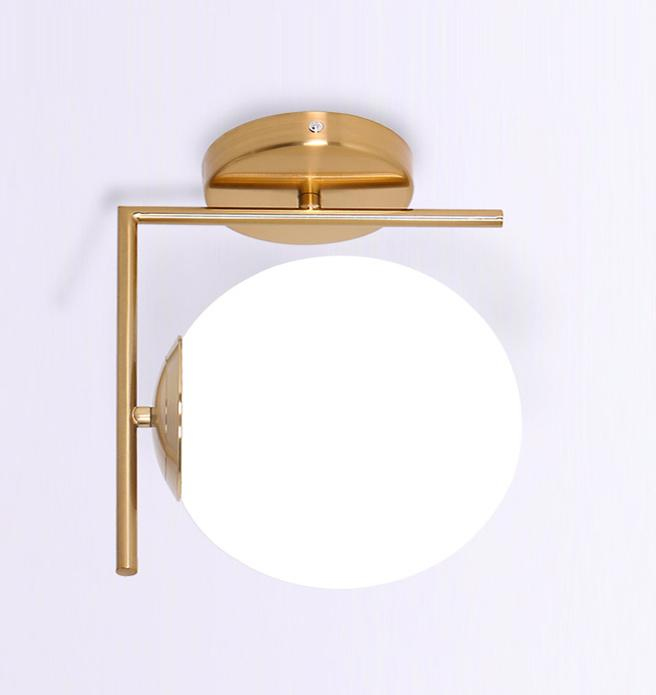 Salvi Gold Frost | Wall Sconce