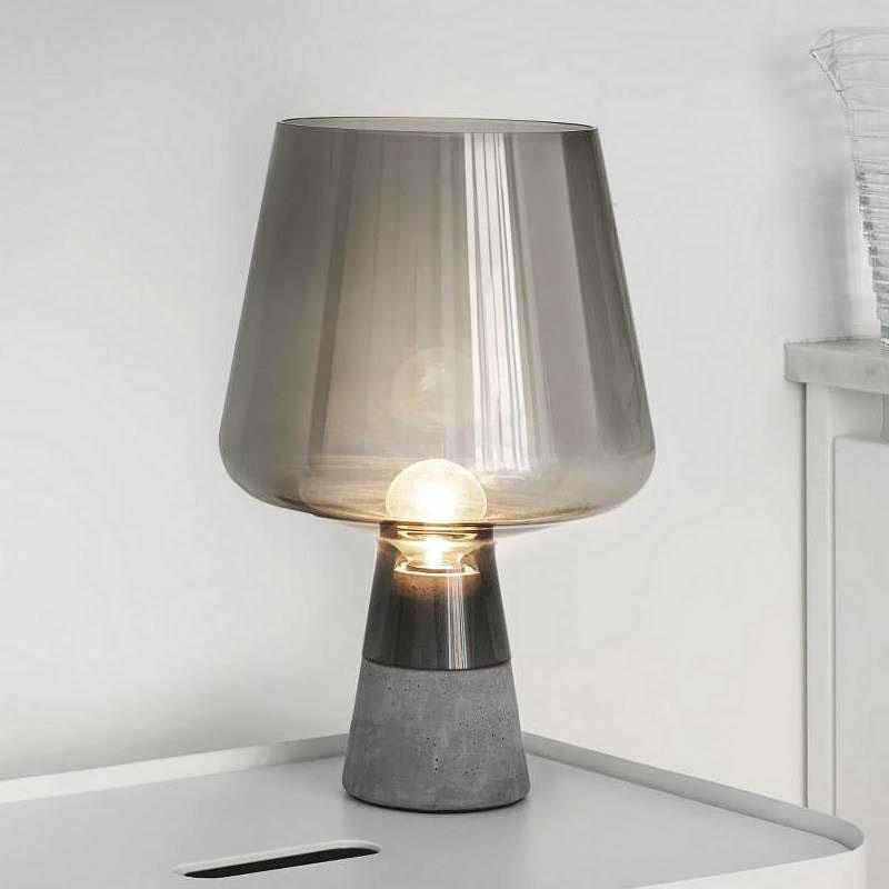 Kristian | Modern Concrete Base Table Lamp - Home Cartel ®