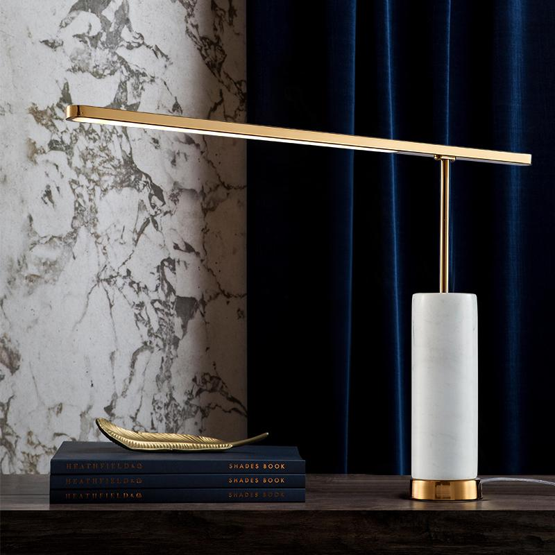 Oddrun | Marble Base Table Lamp